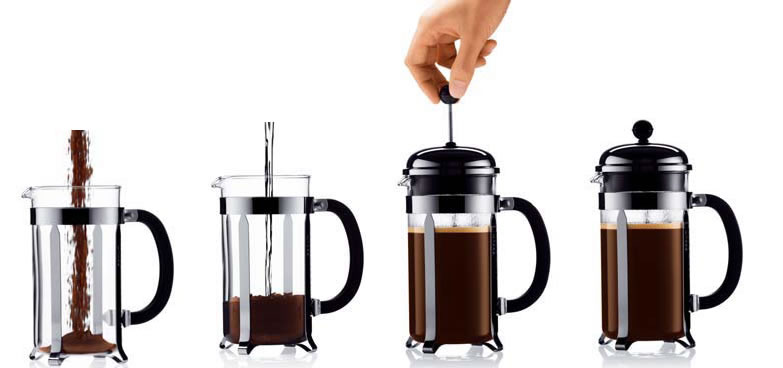 Coffee Press Better Than Coffee Maker : French Press Coffee coffee and tea